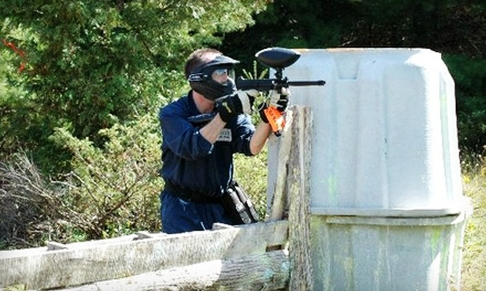 Ottawa X-Treme Paintball - Stittsville: $39 for Day of Paintball for Two, Including Equipment, 500 Paintballs, and Lunch, at Ottawa X-Treme Paintball ($80 Value)