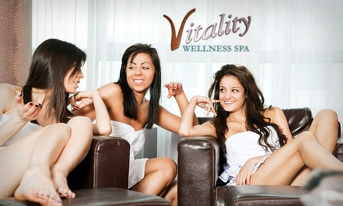 Vitality Wellness Spa - Woburn: $55 for a Massage with Infrared Session or Facial at Vitality Wellness Spa in Reading ($110 Value)