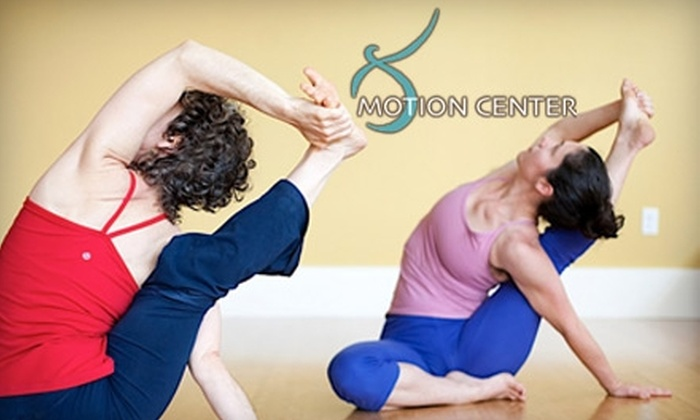 Motion Center - Upper South Providence: $40 for Five Yoga Classes at Motion Center (Up to $80 Value)