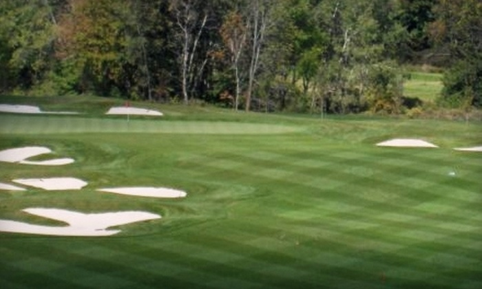 Sally Creek Golf Club & Bistro - Woodstock: $19 for Two Nine-Hole Rounds of Golf ($38 Value) or $10 for $25 Worth of Bistro Fare at Sally Creek Golf Club & Bistro