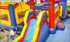 Bounce Town - Yukon: Open-Play Party or Admission for Two to Open Play at Bounce Town in Yukon