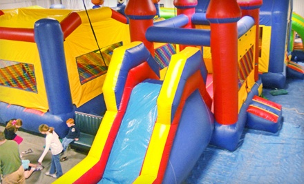 Open-Play Party Package for 15 People (a $160 value) - Bounce Town in Yukon