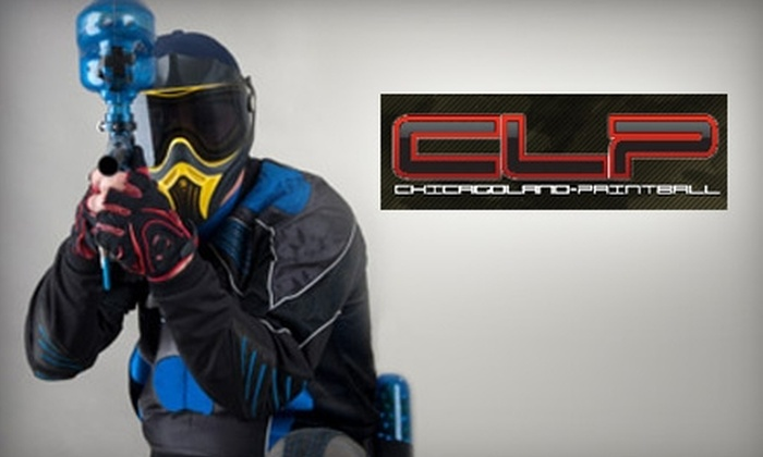 Chicagoland Paintball - Glenwood: $25 for an All-Day Open Play Pass, Equipment Rental, and 500 Paintballs at Chicagoland Paintball in Glenwood