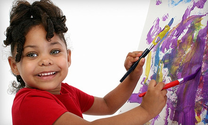 Kids Art of Charleston - Summerville: Four-Week Art Class or Four-Week 3-D Art Class at Kids Art of Charleston (51% Off)