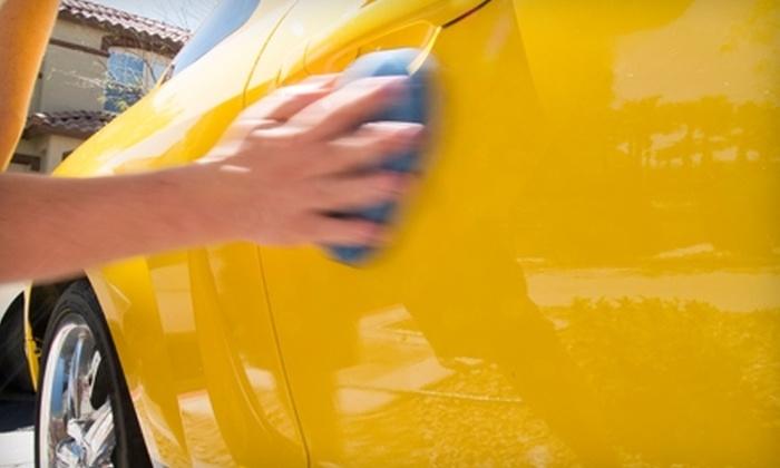 Ultimate Car Wash & Detail Center - Multiple Locations: $11 for an Ultimate Car Wash at Ultimate Car Wash & Detail Center (Up to $23.31 Value)