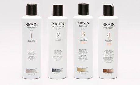 Nioxin Hair Cleanser and Scalp Therapy Duos