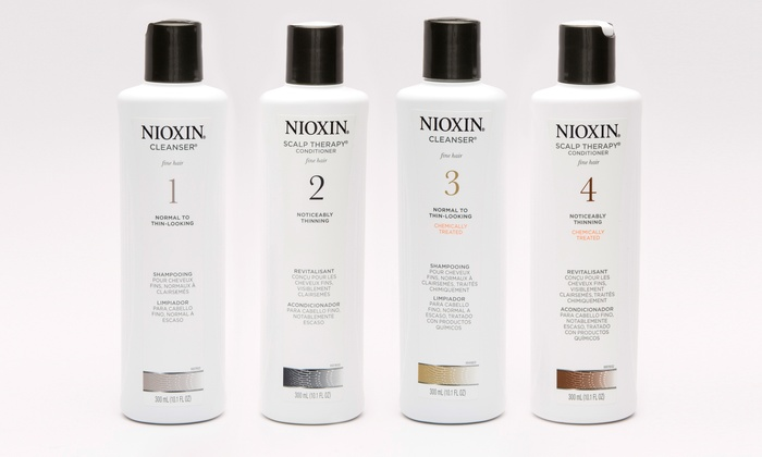 Up To 52 Off On Nioxin Cleanser Amp Scalp Therapy