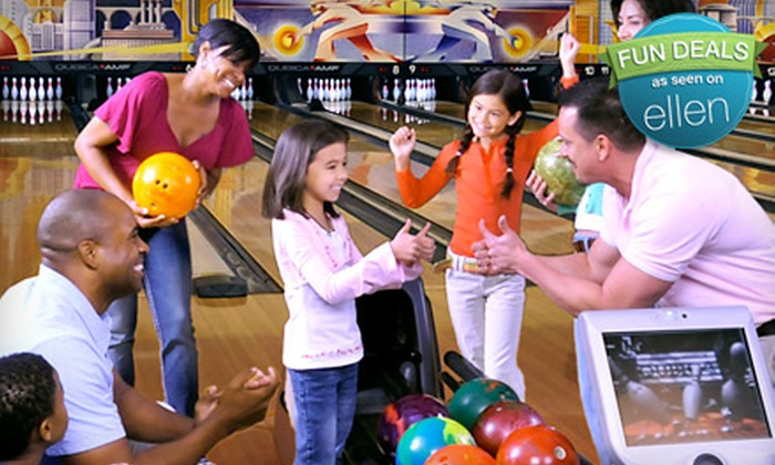 AMF Bowling Centers - Downtown: Two Hours of Bowling and Shoe Rental for Two or Four at AMF Bowling Centers (Up to 57% Off). 271 Locations Nationwide.
