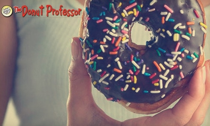 The Donut Professor - Multiple Locations: $10 for $20 Worth of Donuts and More at The Donut Professor