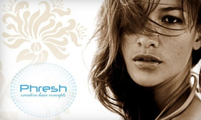 Phresh Creative Hair Concepts - Fort Wayne: $50 for Cut, Color, and Style at Phresh Creative Hair Concepts
