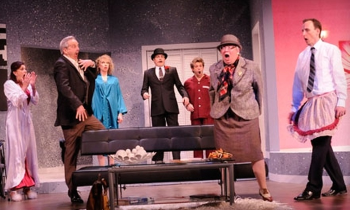 """Stage West Theatre Restaurant - Alyth - Bonnybrook - Manchester: $48 Dinner Theatre Admission to """"Move Over Mrs. Markham"""" at Stage West Theatre Restaurant ($96.60 Value). Three Nights Available."""