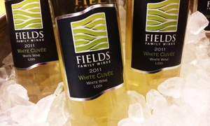 Fields Family Wines: Wine Tasting for Two, Four, or Six at Fields Family Wines (Up to 67% Off)
