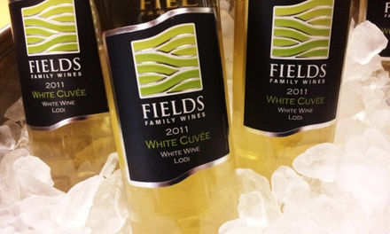 Wine Tasting for Two, Four, or Six at Fields Family Wines (Up to 61% Off)