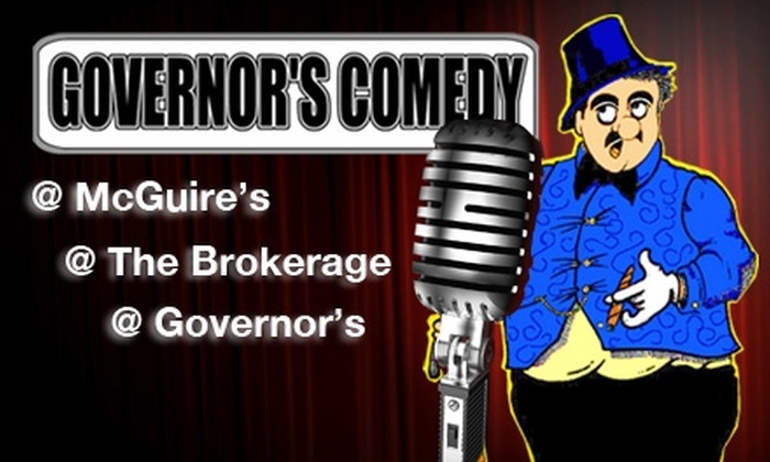 Governor's Comedy Clubs - Multiple Locations: $8 Ticket to a Comedy Show at Any Governor's Comedy Club