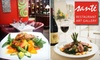 Santé Restaurant - Byward Market - Parliament Hill: $30 for $60 Worth of Globally Inspired Cuisine at Santé Restaurant