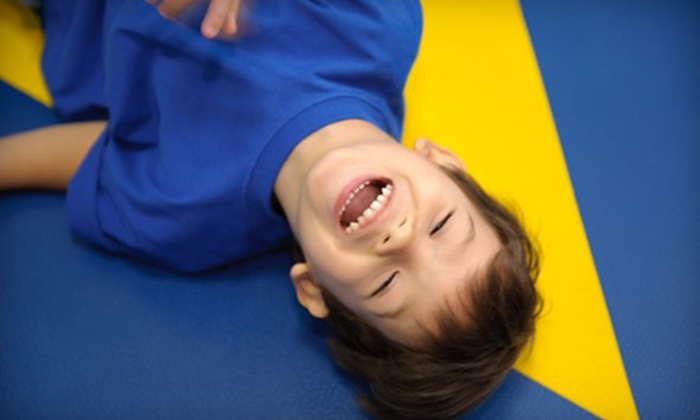 Great Play of Redmond - Downtown Redmond: $19 for Two Drop-In Kids' Gym Classes at Great Play of Redmond ($50 Value)