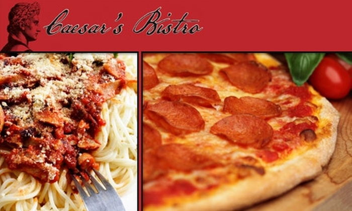 Caesar's Bistro - Nashville: $10 for $25 Worth of Italian Fare at Caesar's Bistro