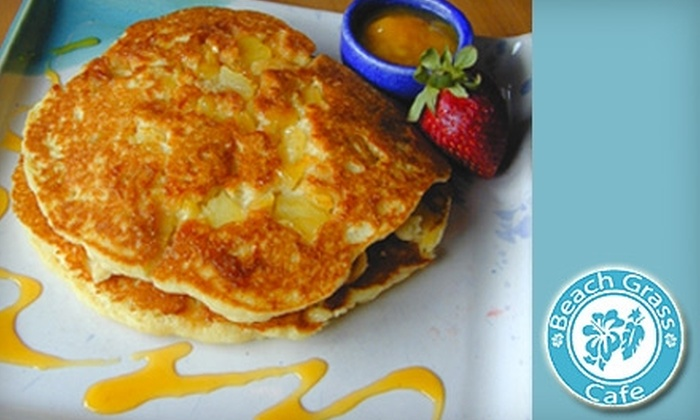 Beach Grass Café - Encinitas: $7 for $15 Worth of Breakfast and Lunch Fare or $10 for $25 Worth of Dinner Fare at Beach Grass Café in Encinitas