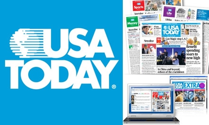 USA TODAY - Tampa Bay Area: $25 for a 12-Week Subscription to USA TODAY ($60 Value)