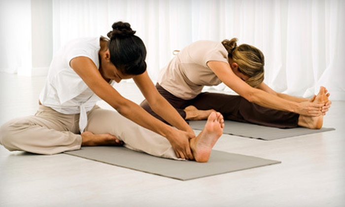 Yoga West - Beverlywood: Five Yoga Classes or One Month of Unlimited Yoga Classes at Yoga West (Up to 72% Off)