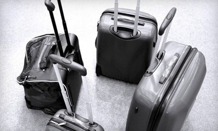 Robinson Luggage - Multiple Locations: Luggage and Travel Accessories at Robinson Luggage (Up to 54% Off). Two Options Available.