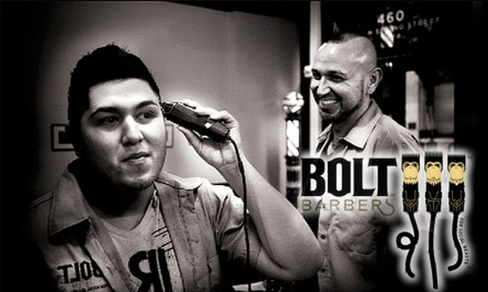 Bolt Barbers - Downtown Los Angeles: $11 for a Shear Dude Haircut at Bolt Barbers ($22 Value)