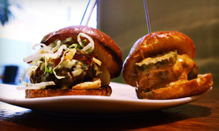 Bareburger New York - Multiple Locations: $10 for $20 Worth of Michelin-Recommended Organic Fare and Drinks at Bareburger