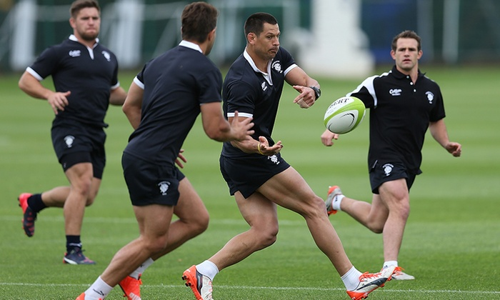 Groupon: Win a Day with The Barbarians Rugby Team For You and Three Mates