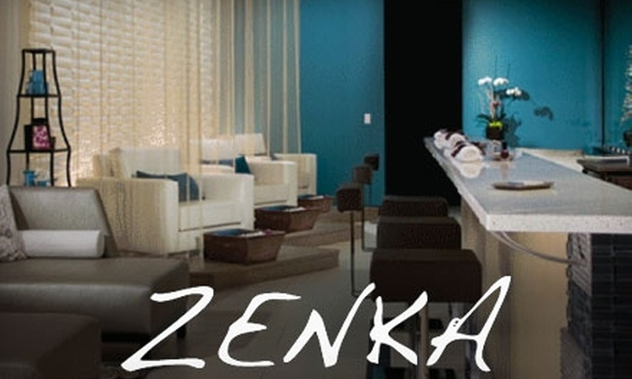 ZENKA - Los Angeles: $63 for a 24 Karat Gold Mani-Pedi at Zenka in Manhattan Beach ($126 Value)