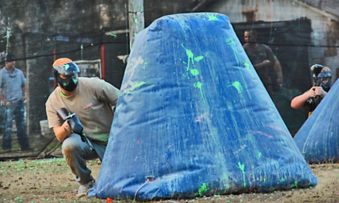 Low Country Paintball - Savannah / Hilton Head: $25 for a Four-Hour Paintball Outing with Equipment Rental at Low Country Paintball in Ludowici ($50 Value)