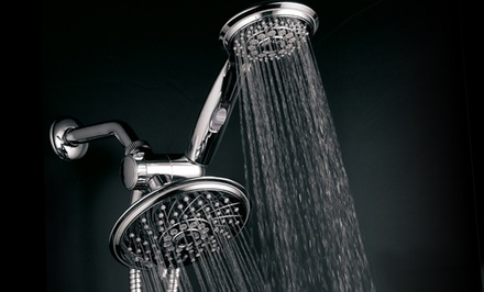 HotelSpa 3-Way Rainfall Showerhead and Hand Shower
