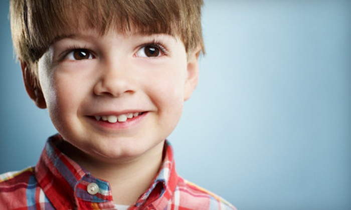Children's Dentistry of Amarillo - Amarillo: $49 for a Child's Dental Package with Exam and Cleaning at Children's Dentistry of Amarillo (Up to $329 Value)