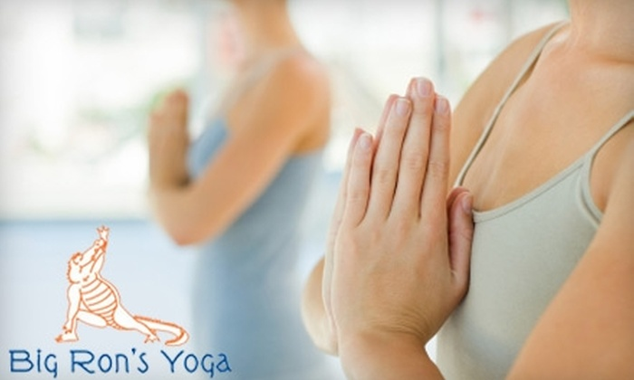 Big Ron's Yoga College - Gainesville: $30 for Five Passes to Big Ron's Yoga College ($60 Value)