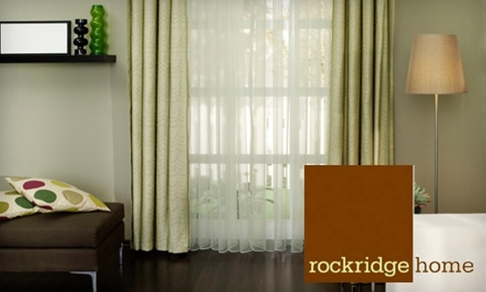 Rockridge Home - Rockridge: $25 for $100 Worth of Furniture, Accessories, and Gifts at Rockridge Home in North Oakland