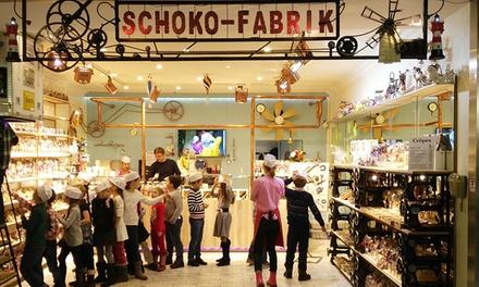 Wertgutschein über 20 oder 40 € anrechenbar auf das gesamte Sortiment der Schoko Fabrik im Europa-Center (50% sparen)