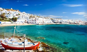 Greek Island Trip with Airfare