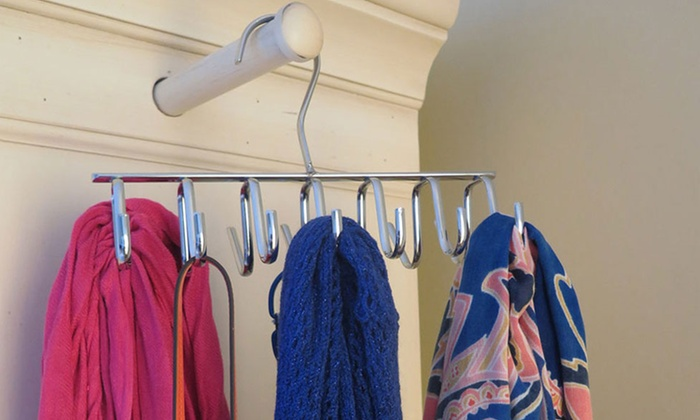 Evelots 14 Hook Space Saving Closet Hanger ...