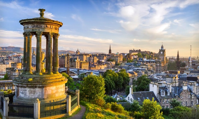 Scotland and Ireland Vacation with Airfare - Dublin: 9-Day Scotland and Ireland Vacation with Airfare, Rental Car, and B&B Accommodations from Great Value Vacations