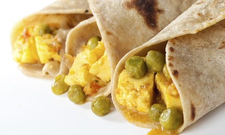 $9 for Two Roti Lunch Plates at Trini To D Bone (Up to $16 Value)