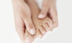 Euphoria Nails and Spa: Reflexology Package with Paraffin Wax and Foot Soak at Euphoria Nails & Spa (50% Off)