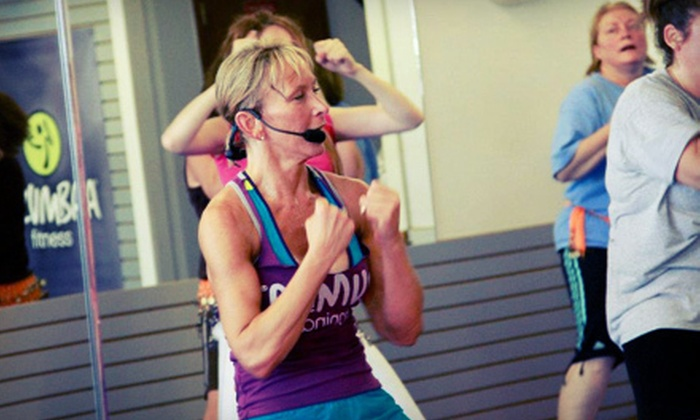 Knock Out Fitness - Agawam Town: 10 or 20 Zumba, Kickboxing, or Boot-Camp Classes at Knock Out Fitness (Up to 63% Off)