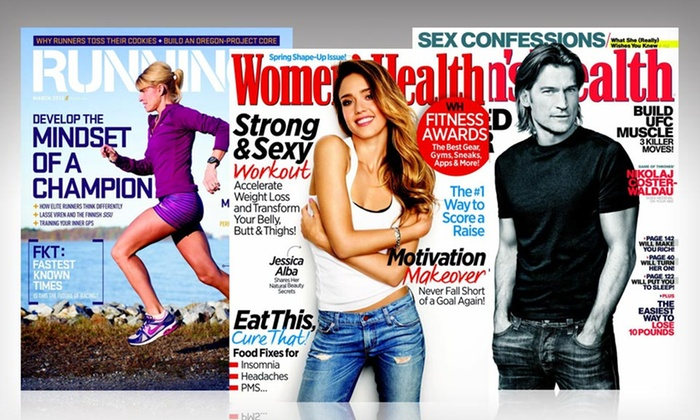 Health and Fitness Magazine Subscriptions: Health and Fitness Magazines for Summer Vacation (Up to 53% Off). 6 Titles Available. Free Shipping.