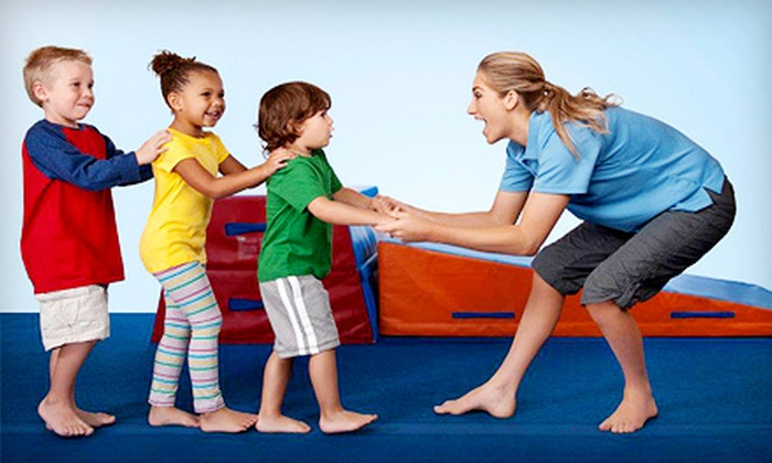 The Little Gym - Multiple Locations: Four Children's Classes or WonderKid Club Sessions at The Little Gym (Up to 64% Off)