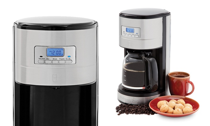 How To Use Wolfgang Puck Coffee Maker : Wolfgang Puck Coffee Maker Groupon Goods