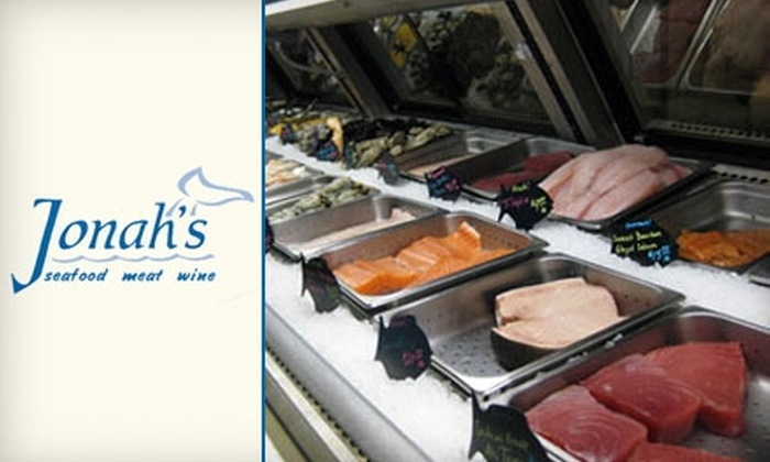 Jonah's Market - Fall Creek Harbour: $15 for $30 Worth of High-Quality Seafood and Meats at Jonah's Market