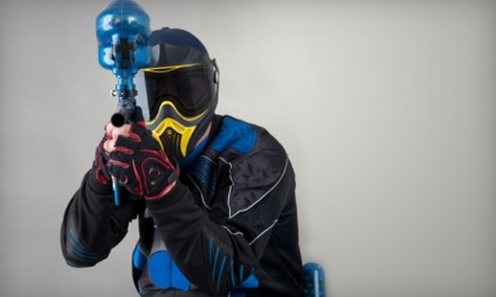 Skyline Paintball - Strasburg: $40 for All-Day Equipment Rental for Two People, Plus 500 Paintballs, at Skyline Paintball in Strasburg ($80 Value)