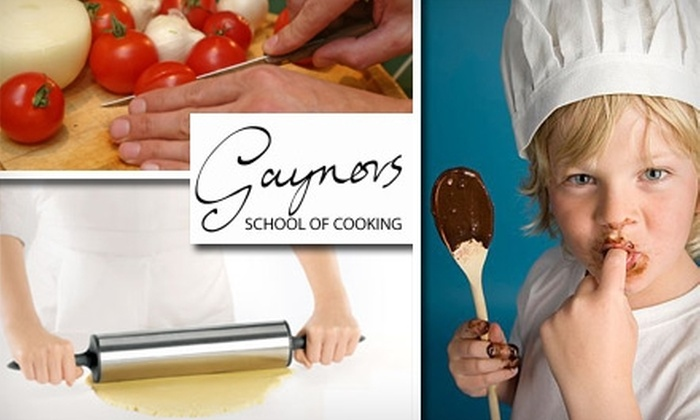 Gaynor's School of Cooking - Southside Slopes: $45 for a Cooking Class ($85 Value) or $195 for a Five-Class Fine-Cooking Series ($395 Value) at Gaynor's School of Cooking