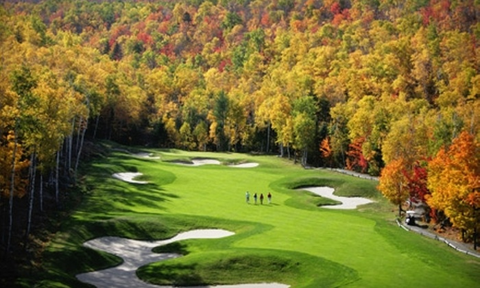 Sugarloaf Golf Club & School - Carrabassett Valley: $48 for 18 Holes of Golf and Golf-Cart Rental at Sugarloaf Golf Club & School ($97 Value)