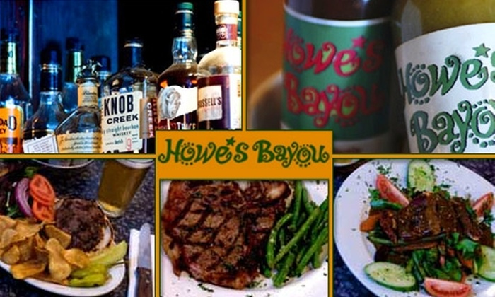 Howe's Bayou - Downtown Ferndale: $15 for $30 Worth of Cajun Cuisine at Howe's Bayou