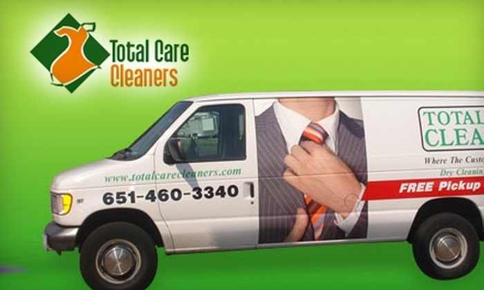 Total Care Cleaners - Multiple Locations: $10 for $25 Worth of Dry-Cleaning Services from Total Care Cleaners